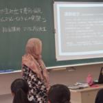 2018年5月9日高等学校にて「人権」のお話をしました。